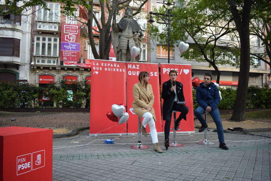 28-A: El PSN llama al voto progresista para evitar el Gobierno de derechas y ultraderecha