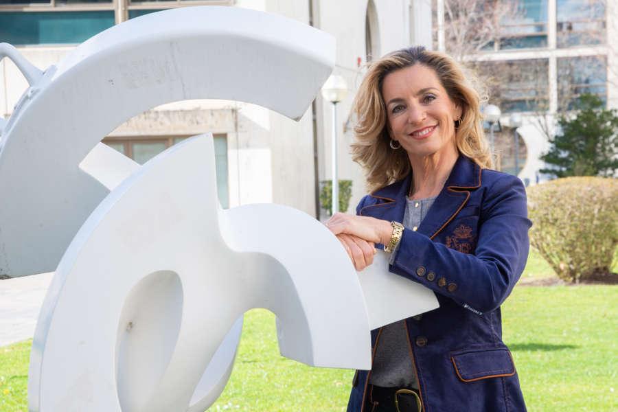 "Beriain se presenta a rectora de la UPNA para afrontar ""grandes retos"""