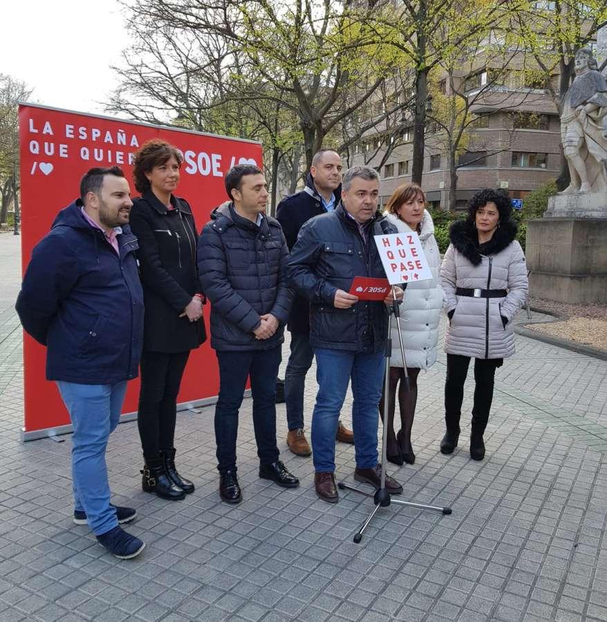 """Cerdán (PSN) pide que el 28-A """"se movilice la España del sentido común"""""""
