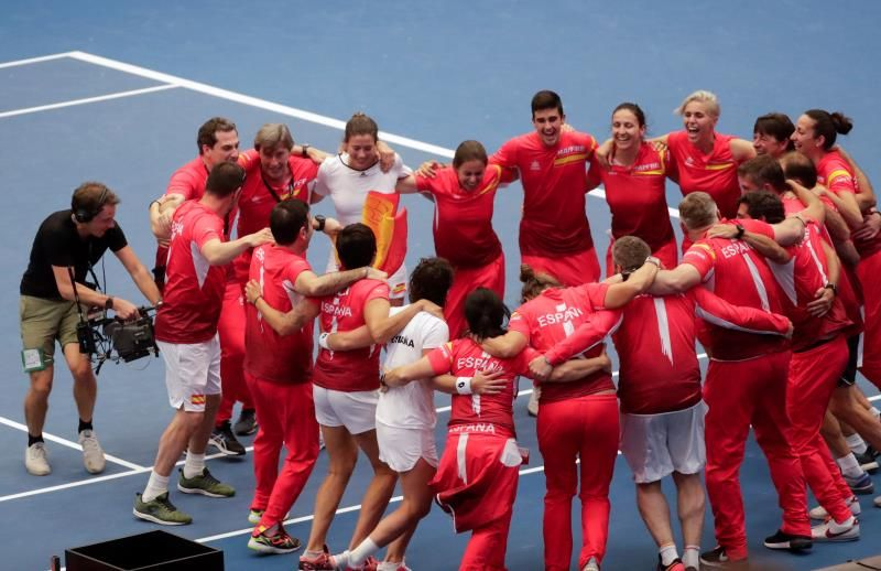 Carla Suárez devuelve a España a la élite del tenis mundial
