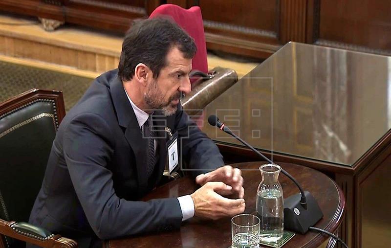 Juicio proceso. Ferrán López: Puigdemont dijo que proclamaría la DUI si había incidentes el 1-O