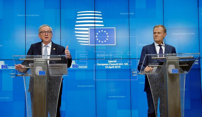 """La Unión Europea pospone el """"brexit"""" hasta el 31 de octubre"""