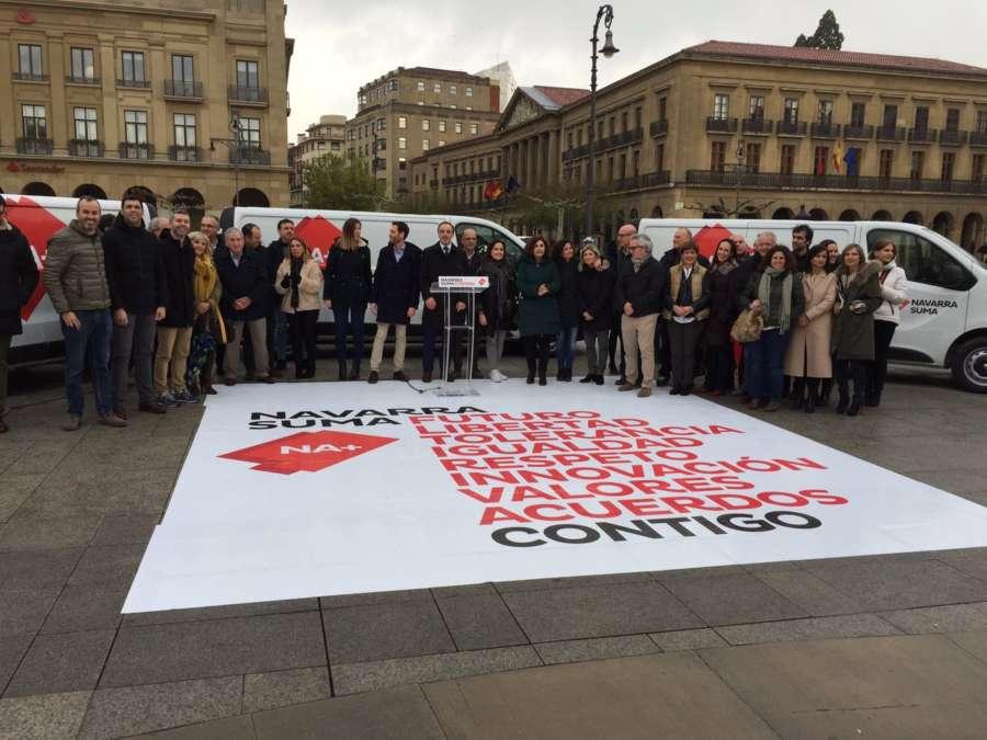 Partidos navarros inician la campaña del 28-A y lanzan sus primeros mensajes