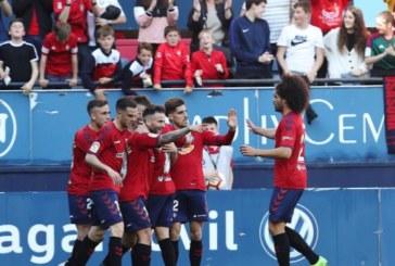 2-1. Osasuna hace historia en el Sadar y afianza su liderato ante el Deportivo