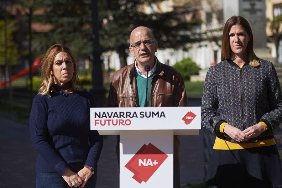 Salanueva y Goñi (NA+) portavoces en distintas comisiones del Senado