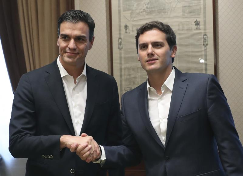 Rivera comunicará a Sánchez su intención de liderar la oposición