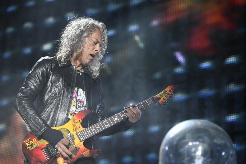 Metallica intenta calentar a las masas en su mayor concierto en España