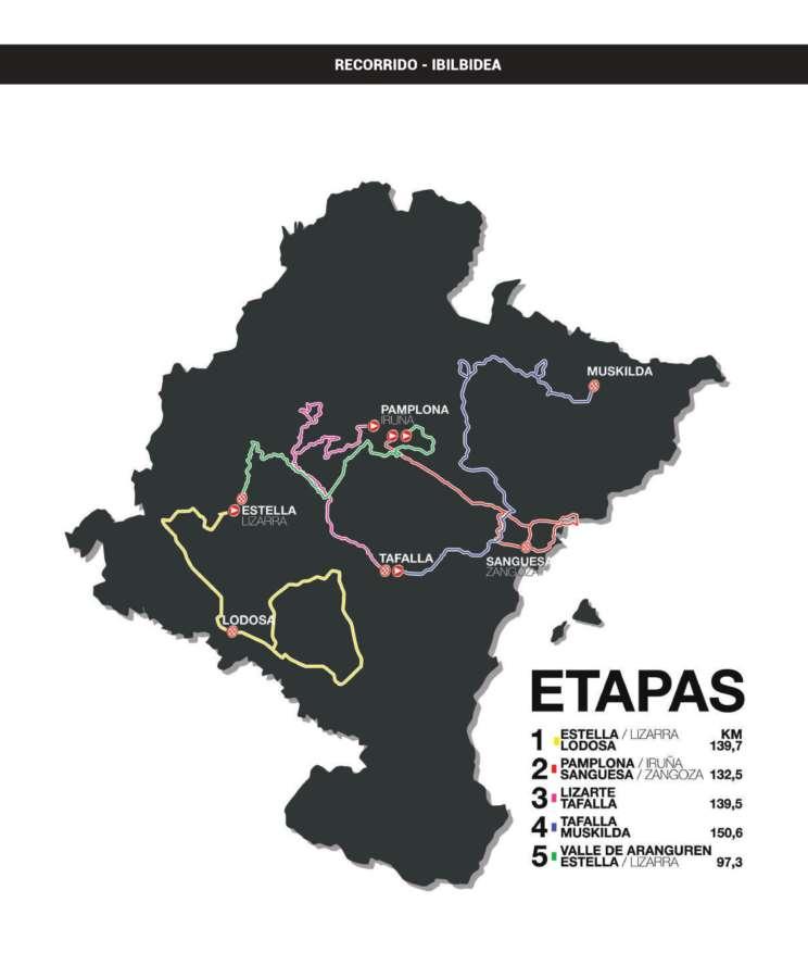 Empieza en Estella la 58 edición de la Vuelta a Navarra