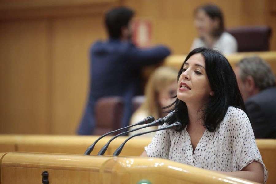 La senadora autonómica registra su informe sobre su actividad para Navarra