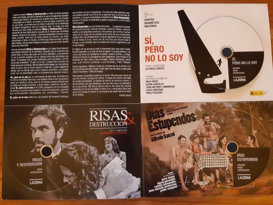 El Archivo de Navarra recibe el fondo documental del director y dramaturgo Alfredo Sanzol