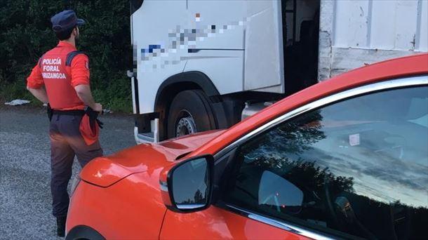 Denunciado el conductor de un camión por positivo en cocaína y heroína