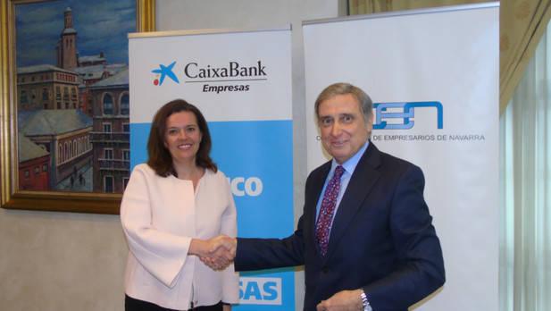 CaixaBank y la CEN renuevan su acuerdo que incluye financiación a empresas