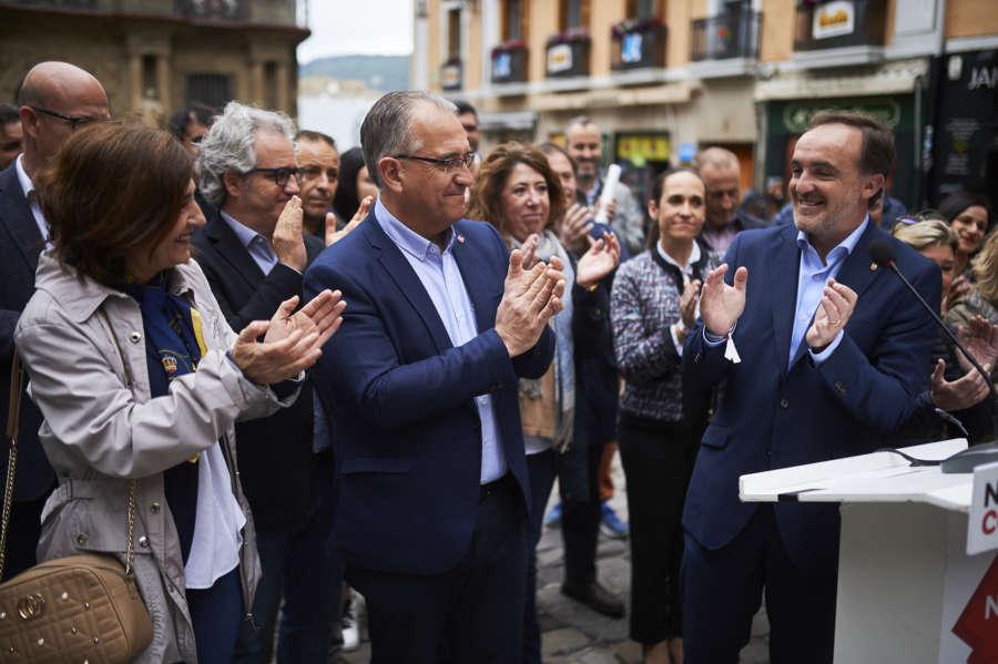 Resultados 10N: Navarra Suma, la fuerza más votada en Pamplona, seguida de PSN y Bildu