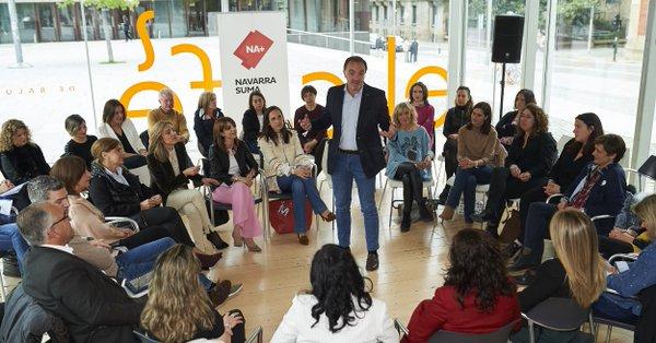 26M: Navarra Suma destaca la importancia de trabajar por la igualdad