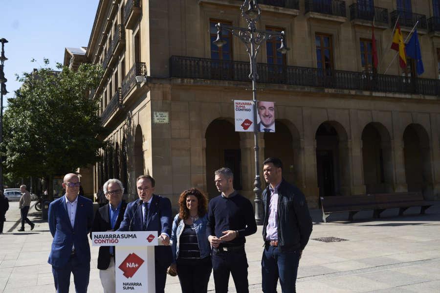 """NA+ defiende despolitizar el euskera y que no sea un """"carné de trabajo"""""""