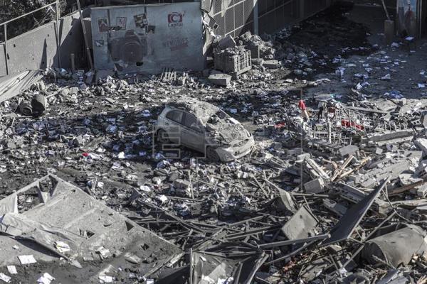 La escalada de violencia entre Gaza e Israel causa al menos 25 muertos