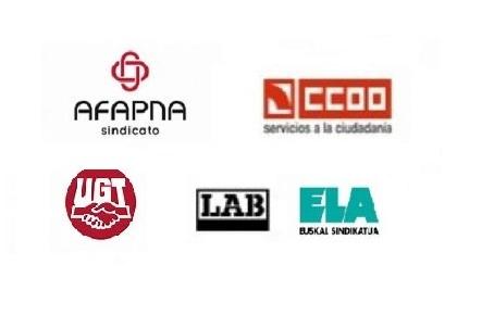 LAB, AFAPNA, CCOO Y ELA los más votados en las elecciones sindicales de la Administración Foral de Navarra