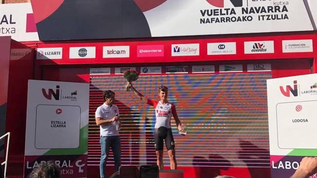 Marit, vencedor de la primera etapa de la Vuelta a Navarra
