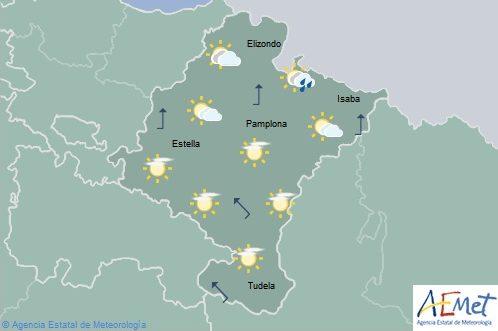 En Navarra temperaturas con pocos cambios