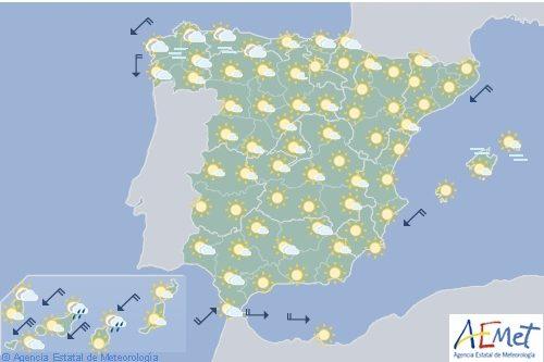 Hoy en España, leve descenso de temperaturas, pero superarán los 40º en distintas ciudades
