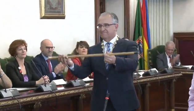 Maya (NA+), alcalde de Pamplona como lista más votada con 13 concejales