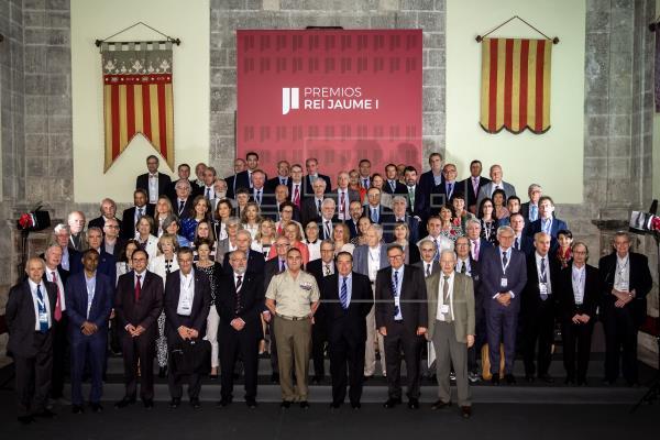 Los Jaime I premian estudios de envejecimiento, drones y cambios planetarios