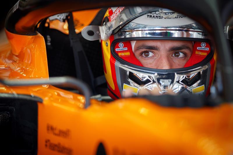 """Sainz: """"McLaren no está en la Fórmula Uno para ser 'el mejor del resto'"""""""