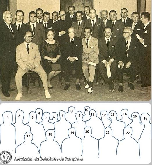 En 1963 … 1ª reunión de Federación Española de Belenistas