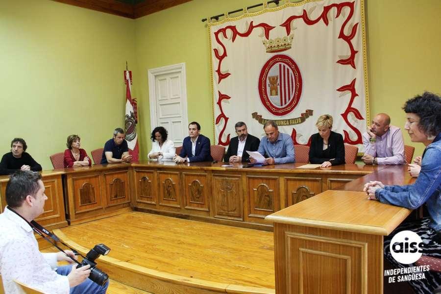 Lucía Echegoyen, de APS, nueva alcaldesa de Sangüesa con el apoyo de EH Bildu