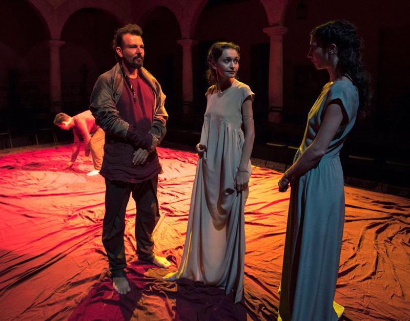 Las parejas Cervantes y Shakespare y Calderón y Slowacki se funden en Almagro