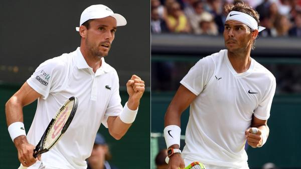 El Wimbledon más español de la historia con Nadal y Bautista en semifinales