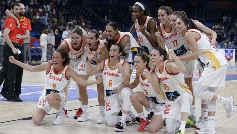 86-66. España vuelve a hacer historia y revalida la medalla de oro