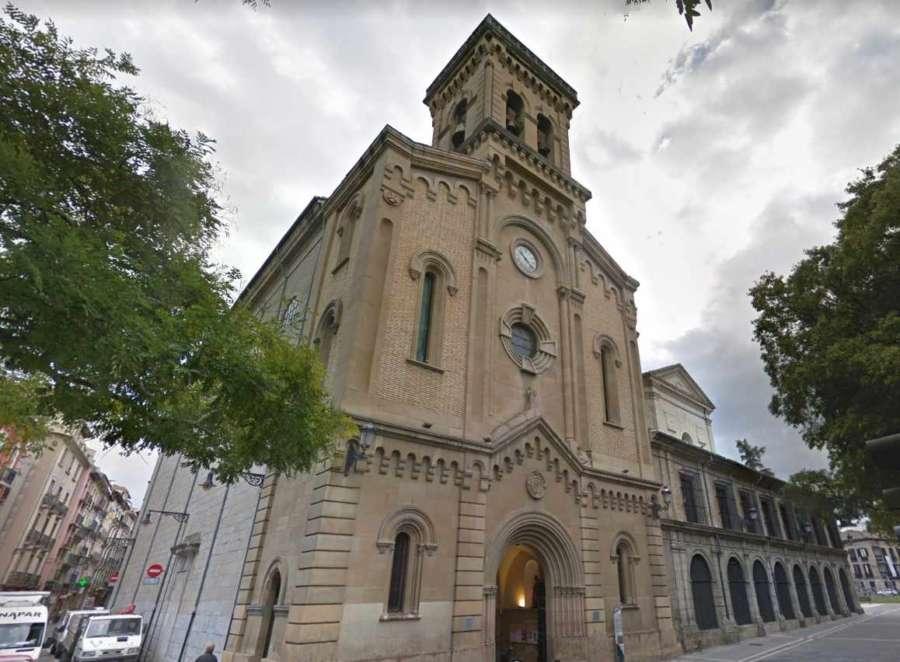 Un rayo daño las campanas y el reloj de la torre de San Fermín