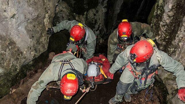 Explorar la cueva tiene riesgo: 31 rescates, 2 muertos y 16 heridos en 6 años