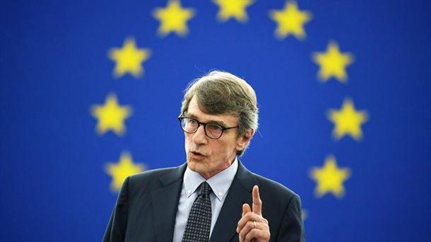 El socialista italiano David Sassoli, presidente de la Eurocámara hasta enero de 2022