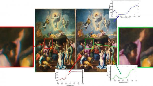 Científicos aplican técnicas de imagen espectral para estudiar obras de arte