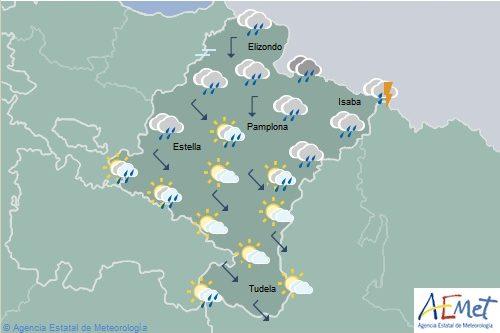 Hoy el tiempo en Navarra