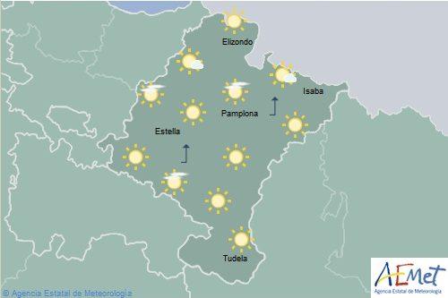 El tiempo para hoy sábado en Navarra