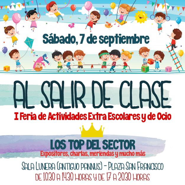 La I Feria de Actividades extraescolares y de ocio 'Al salir de clase' en Pamplona