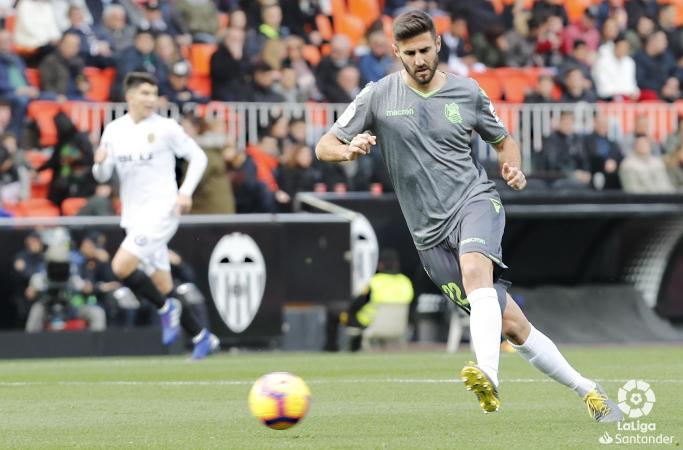 Raul Navas, cedido para reforzar la parcela defensiva de Osasuna