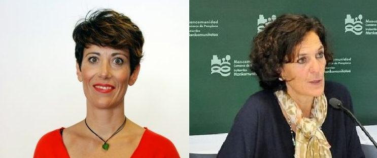 Elma Saiz (PSN) e Itziar Gómez (G. Bai) dejan el Ayuntamiento al ser nombradas consejeras