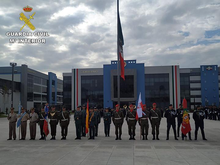 Una delegación de la Guardia Civil participa en el aniversario de la independencia de Méjico
