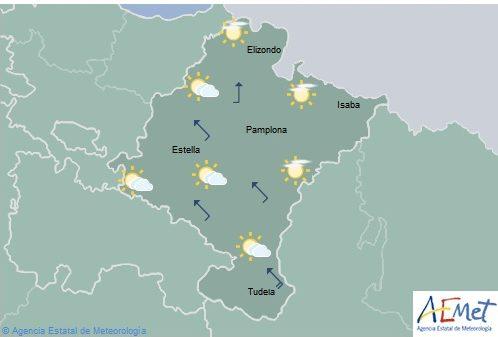 El tiempo para hoy domingo en Navarra