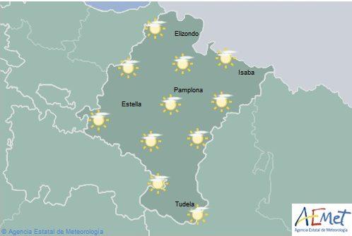 El tiempo en Navarra, hoy lunes en el inicio del otoño