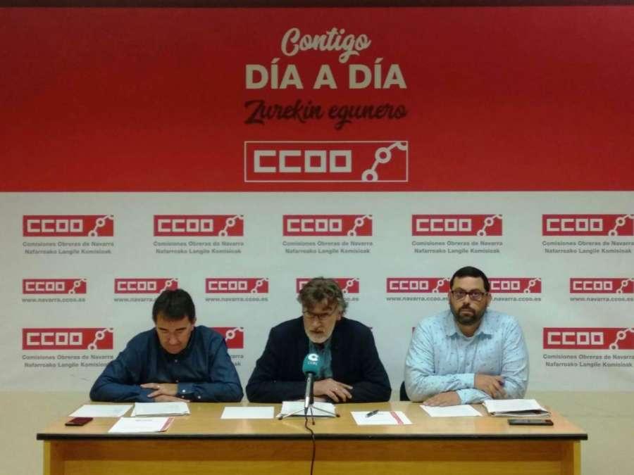 """CCOOO alerta de """"envejecimiento"""" y """"mala calidad"""" del empleo en Tierra Estella"""