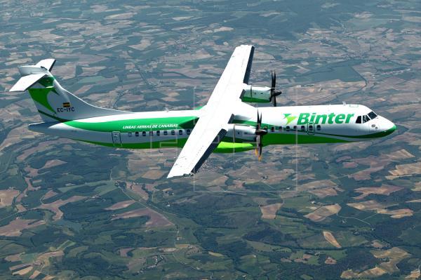 Binter estrena sus destinos nacionales con vuelos a partir de 32,25 euros