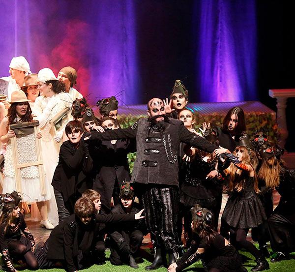 AGENDA: 11 de febrero, en Baluarte, Escuela de Ópera