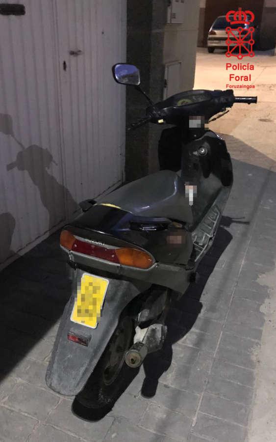Un menor es imputado por conducir un ciclomotor sin permiso y darse a la fuga