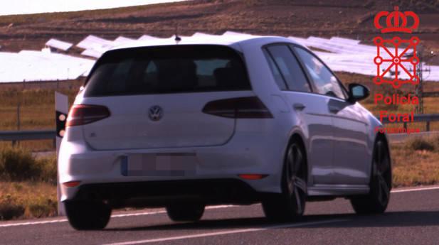 Un conductor madrileño investigado por ir a 211 km/h por la AP-68 en Navarra