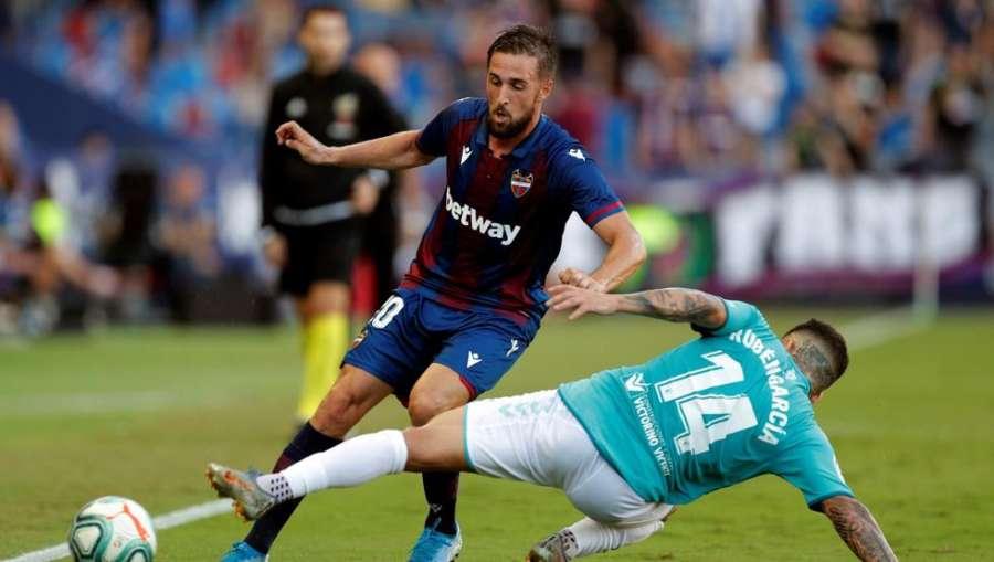 1-1. Levante no aprovechó temprana ventaja ni Osasuna superioridad final